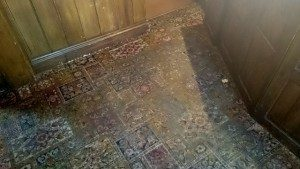 Public House Carpet Before Cleaning