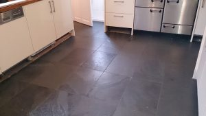 Brazilian Slate Before Cleaning