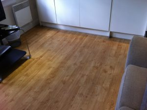 Karndean Floor before cleaning