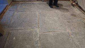Cleaning Flagstone Floors